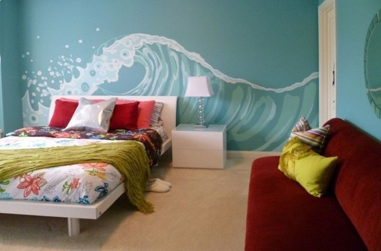 Favored Bedroom Design Ideas With Beach Themes 34