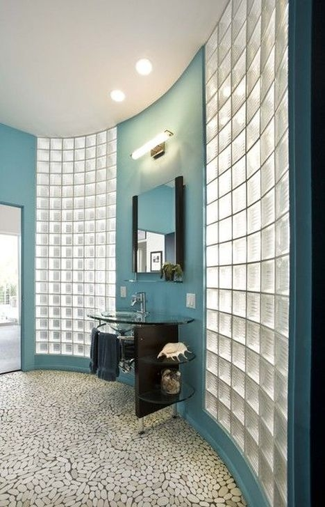 Favored Glass Block Windows Ideas To Enhance Your Home Decor 22