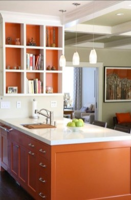 Splendid Kitchen Designs Ideas With Tones Of Vibrant Colors 01