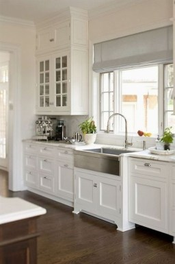 Classy Farmhouse Kitchen Cabinets Design Ideas To Copy 33