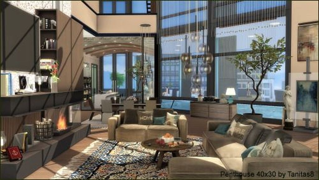 Rustic Penthouse Apartment Design Ideas For You 14
