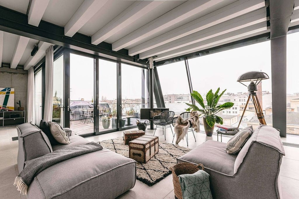 Rustic Penthouse Apartment Design Ideas For You 20