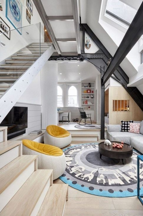 Rustic Penthouse Apartment Design Ideas For You 39
