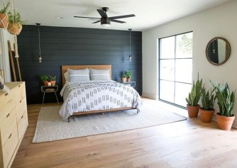 Trendy Farmhouse Master Bedroom Design Ideas 19