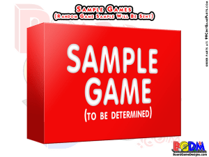 Sample Games/ Sample Production Game Samples