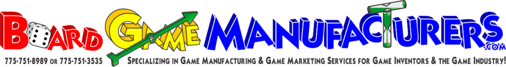 Board Game & Card Game Manufacturing Services