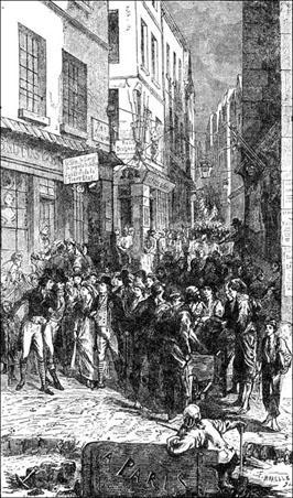 九三年2·在巴黎 : 第一卷 西穆爾登 一 那時候巴黎的街景_維克多·雨果_在線閱讀_九九藏書網