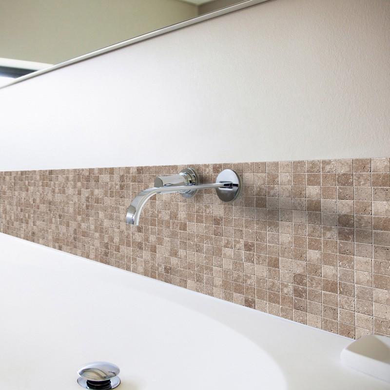 credence adhesive salle de bain