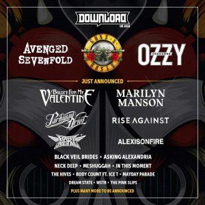 Nieuwe lading namen Download Festival
