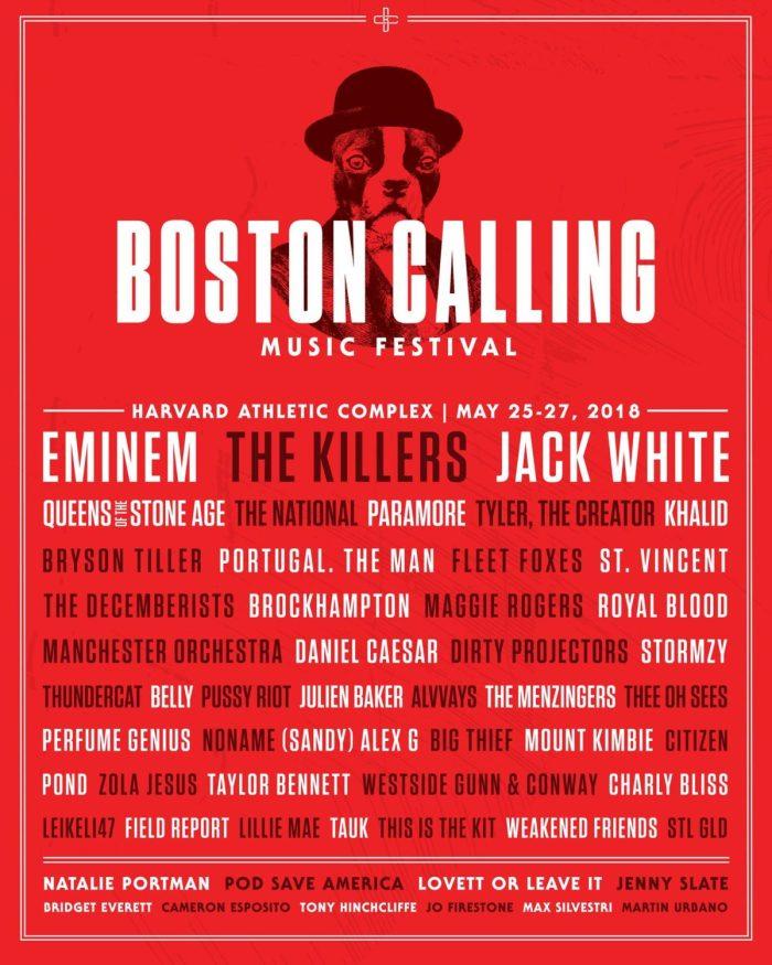 Boston Calling 2018