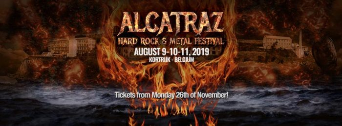 Powerwolf en Rose Tattoo naar Alcatraz 2019