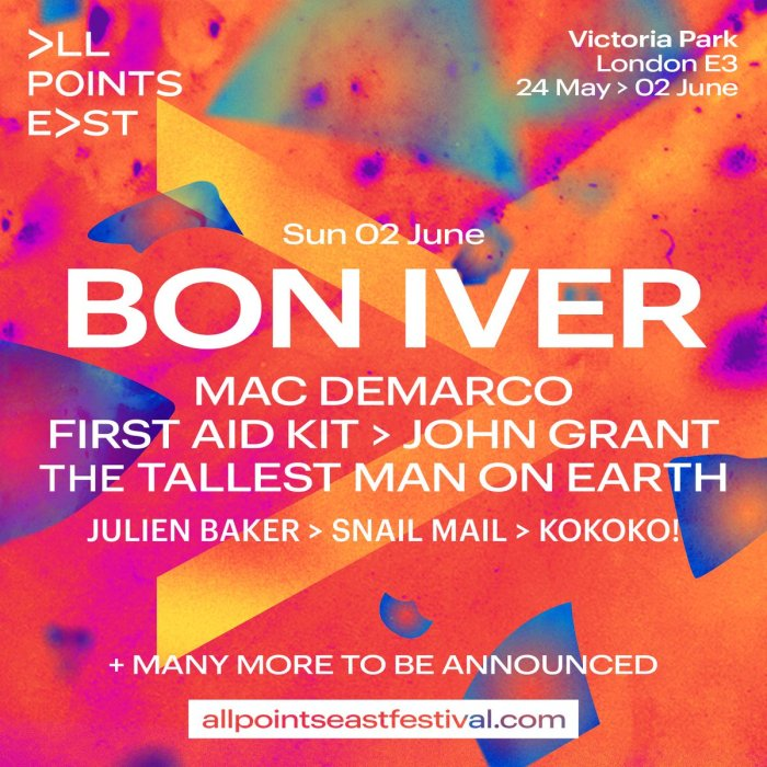Bon Iver All Points East 2019