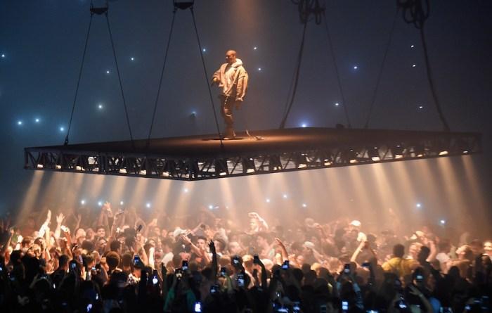 Hoofdpodium Coachella 'te klein' voor Kanye West