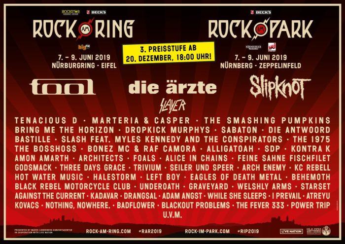 Rock am Ring & Rock im Park 2019 Slayer