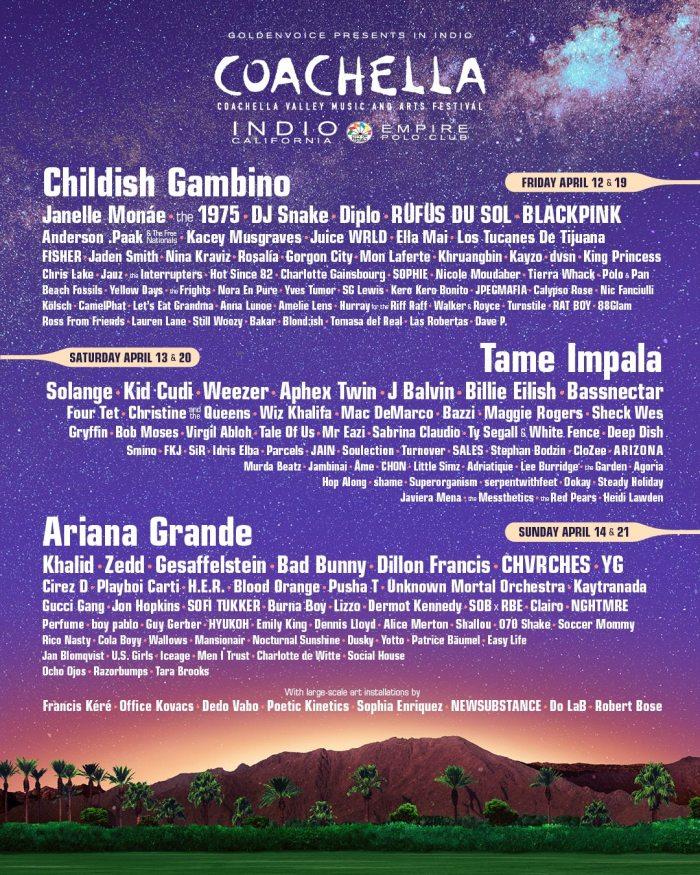 Coachella Valley Music & Arts Festival2019