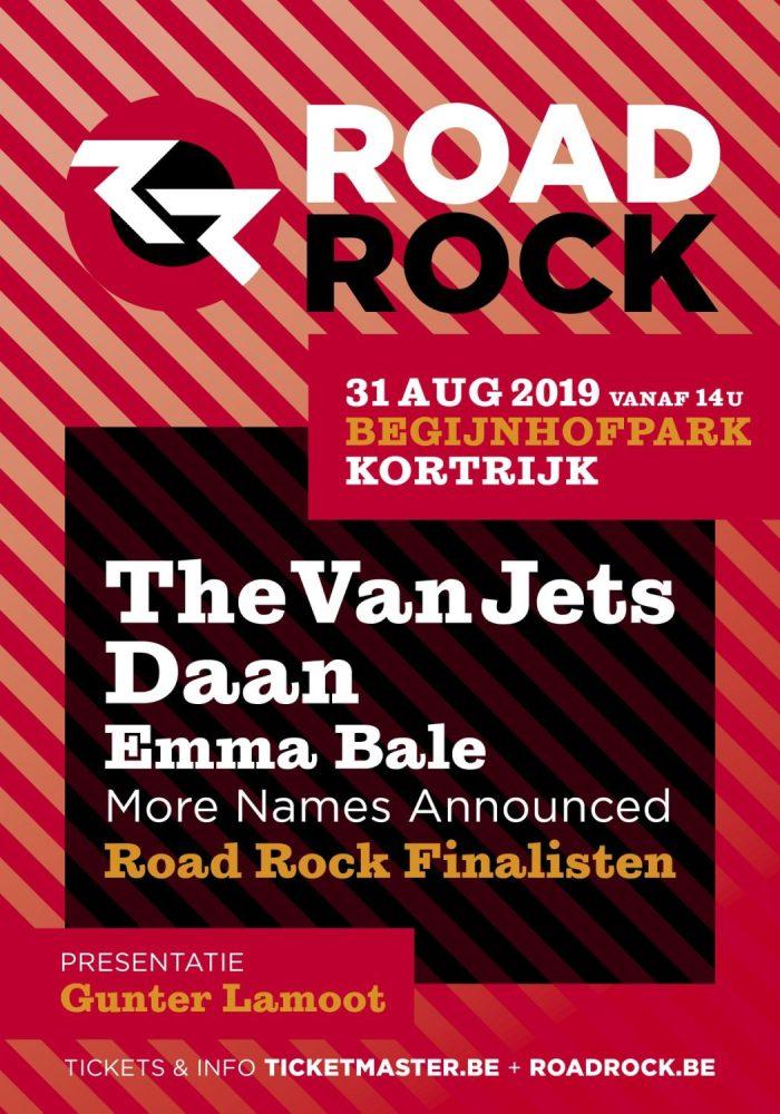Road Rock haalt The Van Jets en Daan naar Kortrijk