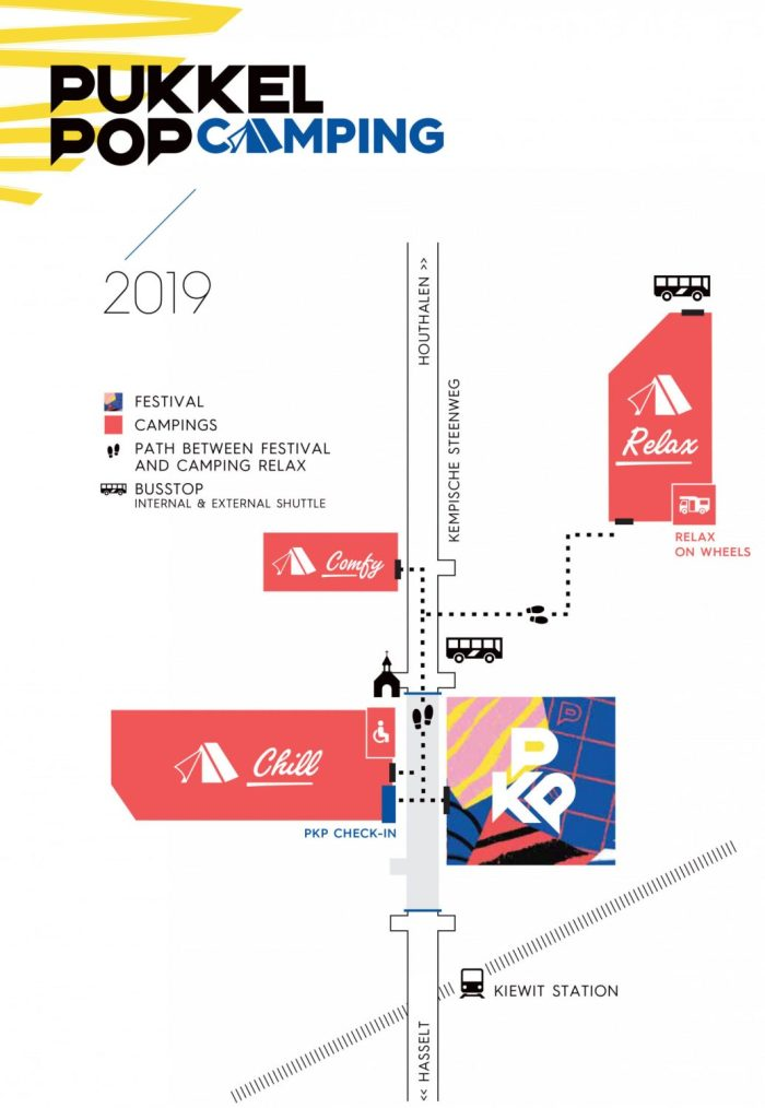 Pukkelpop 2019 Campings