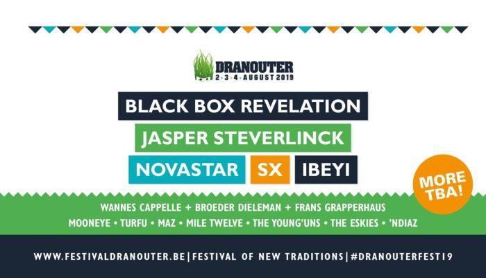 SX, Ibeyi, Novastar en meer naar Dranouter 2019