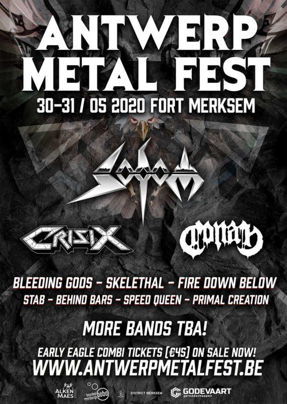 Eerste namen Antwerp Metal Fest 2020