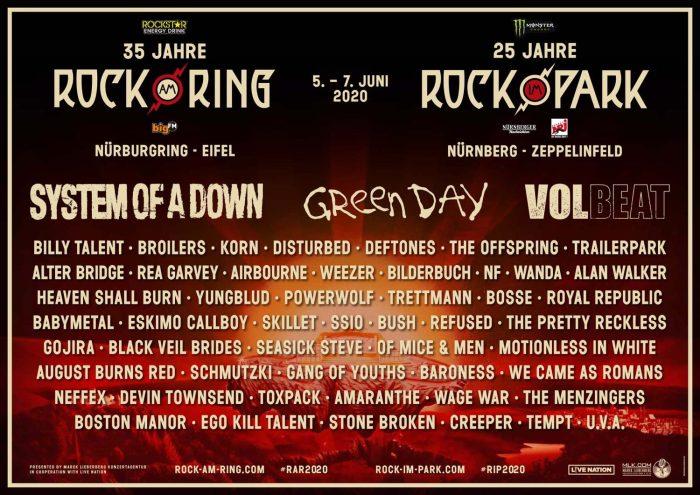 Rock am Ring & Rock im Park 2020