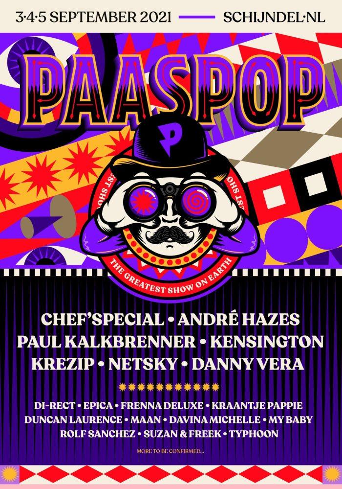 Eerste namen voor Paaspop 2021