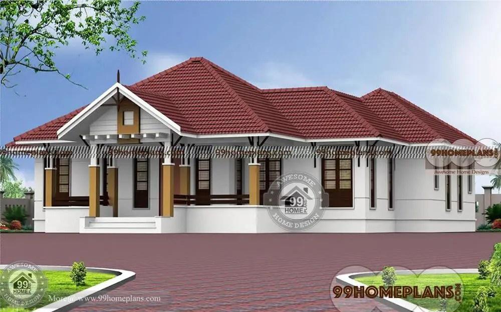 4 Bedroom Single Story House Plans  Dream Home