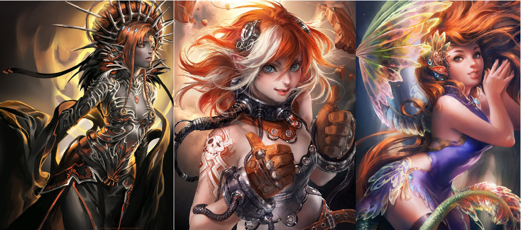 Amazing Digital Art Characters 28