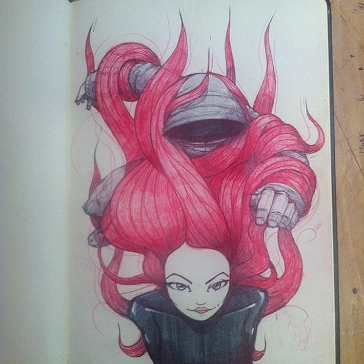 Amazing pencil art sketches 10