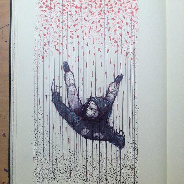 Amazing pencil art sketches 13