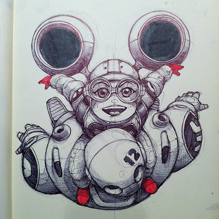 Amazing pencil art sketches 7