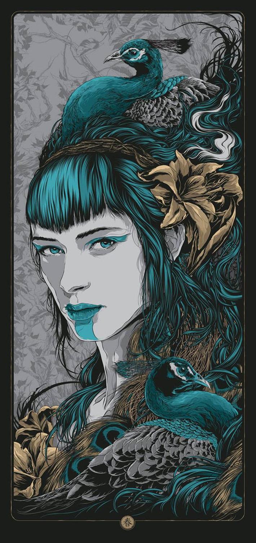 Beautiful gig poster design 2015