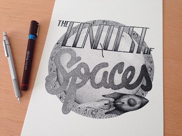 Best Stippling Typography
