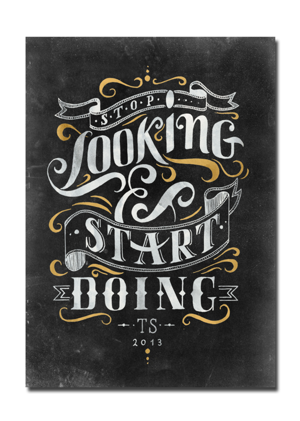 Good lettering drawing and design