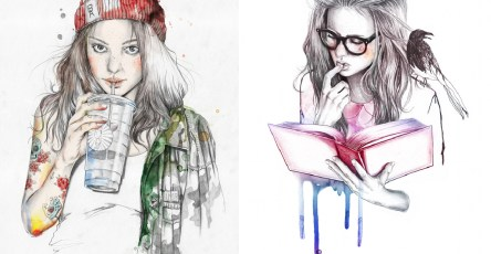 elegant digital art illustrations 21