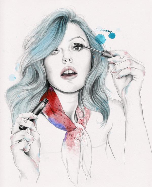 Elegant Digital Art Illustrations By Esra Rise