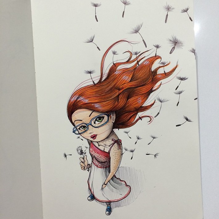 fantastic sketches drawings pencil 16