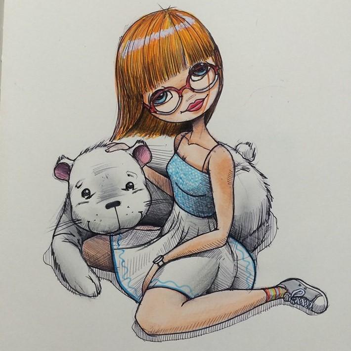 fantastic sketches drawings pencil 4