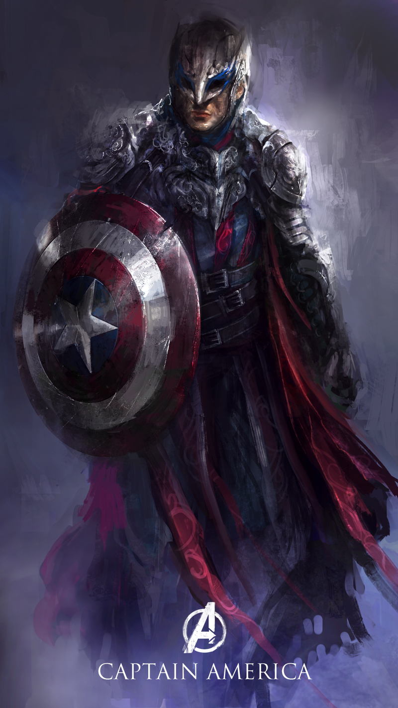 redesign captain America