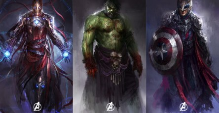 redesign superheroes characters