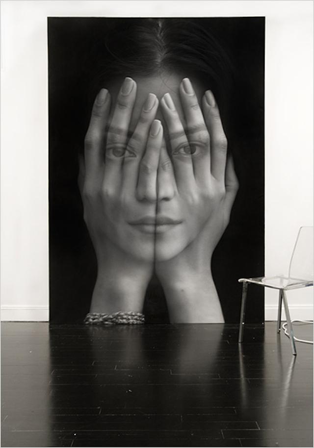 Double Exposure Paintings art
