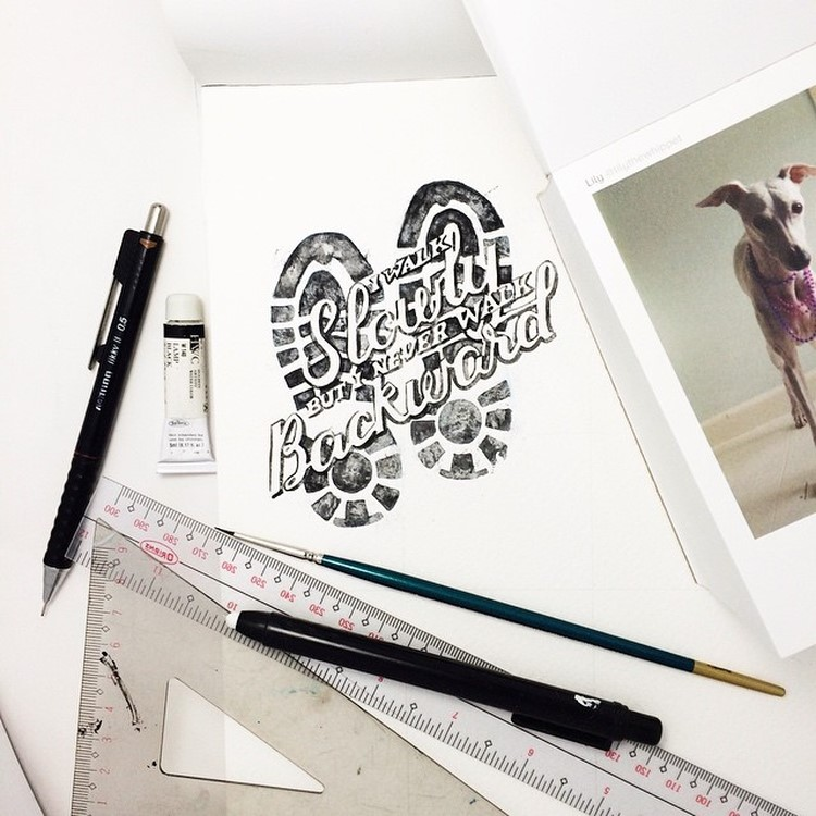 Beauty Watercolor Lettering Quotes by june Digan 01