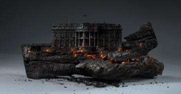 Creative Concept : Deconstruction of America by Mike Campau