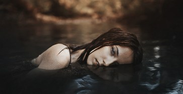 Ethereal female Portraits by Alessio Albi