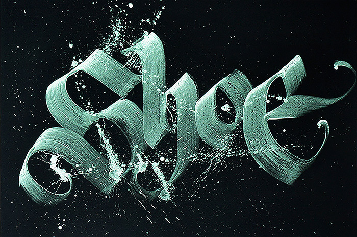 Lettering Calligraphy Design by neils shoe meulman