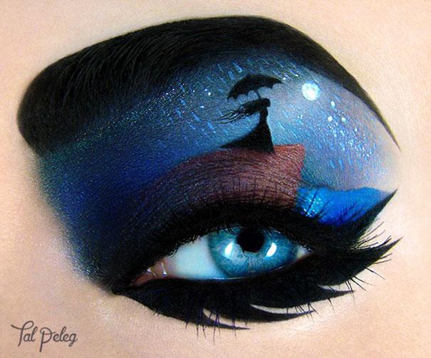 Beutiful Eye Canvas Makeup by Tal Paleg
