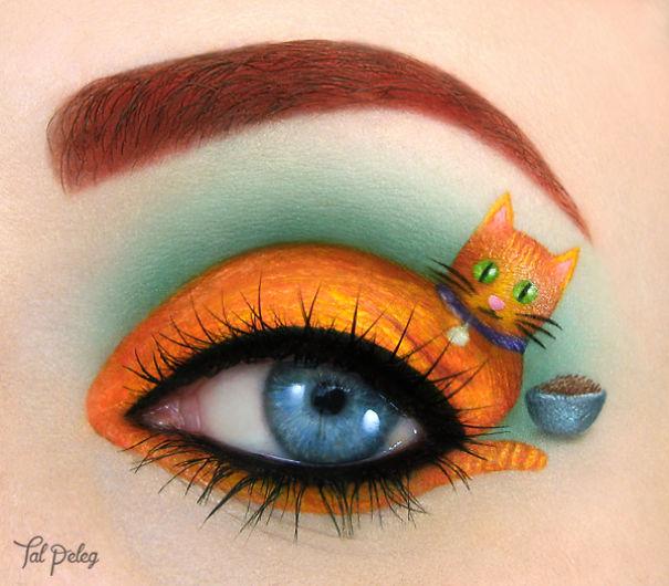 Beutiful Eye Canvas art by Tal Paleg