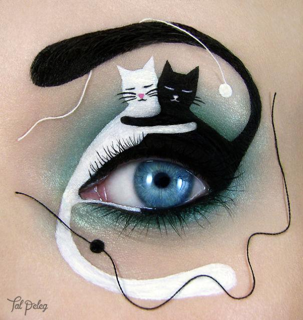 Cute eye art by Tal Peleg