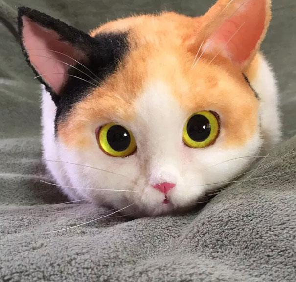 Creative Handmade realistic cat bags pico 03