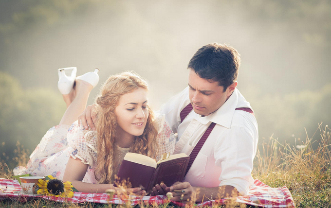 Cute Engagement Photography exampel