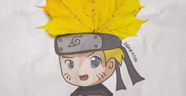 Creative Artwork: Create Naruto Illustrations Using Everyday Objects